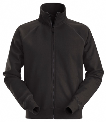 Snickers 2886 AllroundWork Full Zip Sweatshirt Jacket (Black)